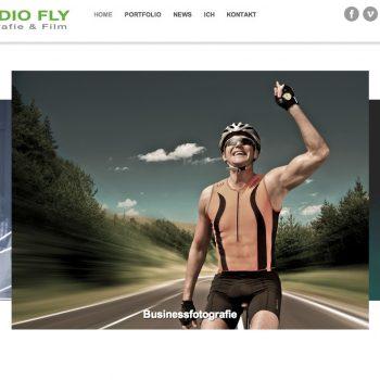 screenshot meiner neuen homepage